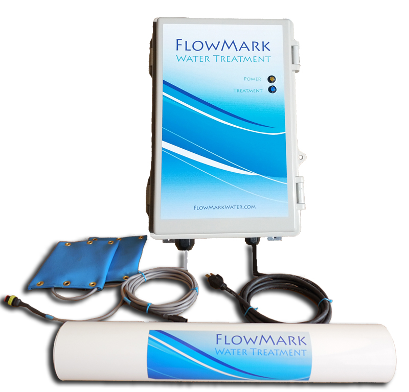 Electronic Water Treatment Product : Flowmark water treatment electronic